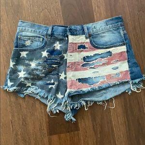 Ralph Lauren Americana Jean Shorts